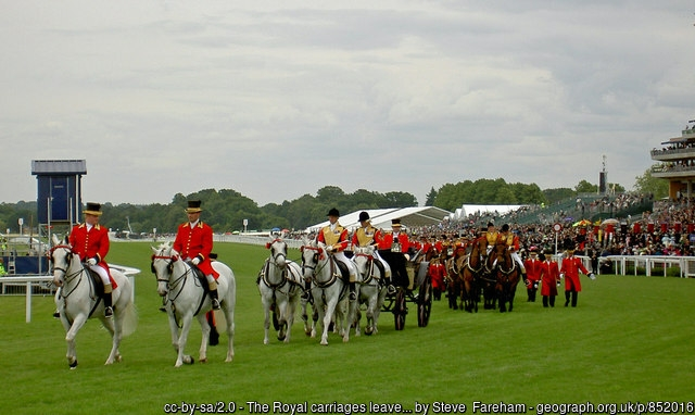 Ascot Racecourse Royal Carriages