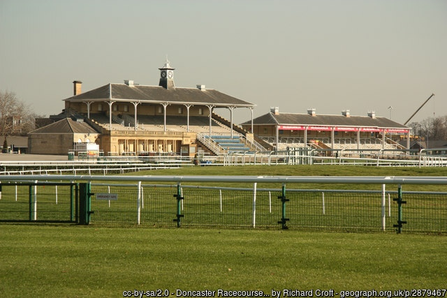 Doncaster Racecourse Grandstand