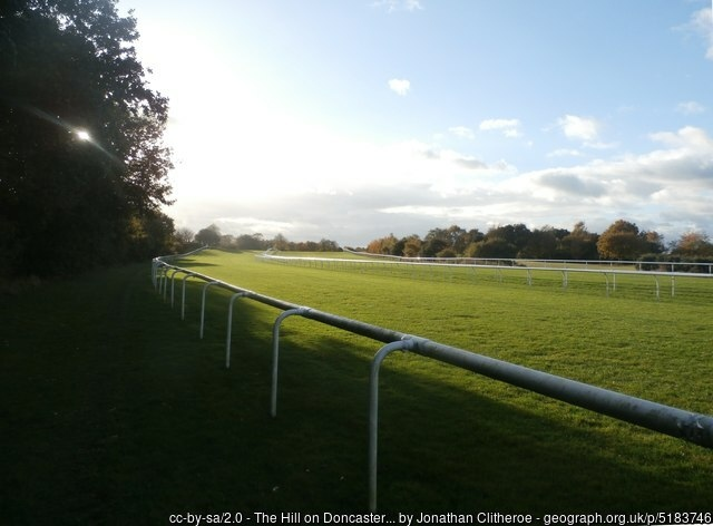 Doncaster Racecourse The Hill