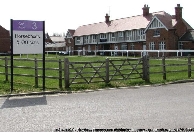 Newbury Racecourse Stables