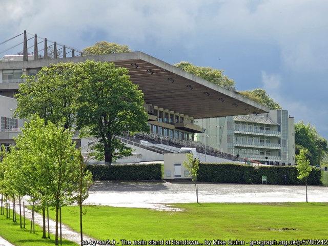 Sandown Park Racecourse Main Stand